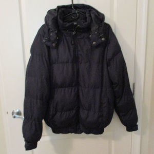 Black Quilted PufferJacket XL Men's Delf Trading